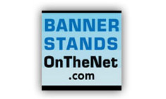 Banner Stands On The Net