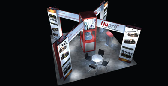 Trade Show Displays In Los Angeles Has Products By