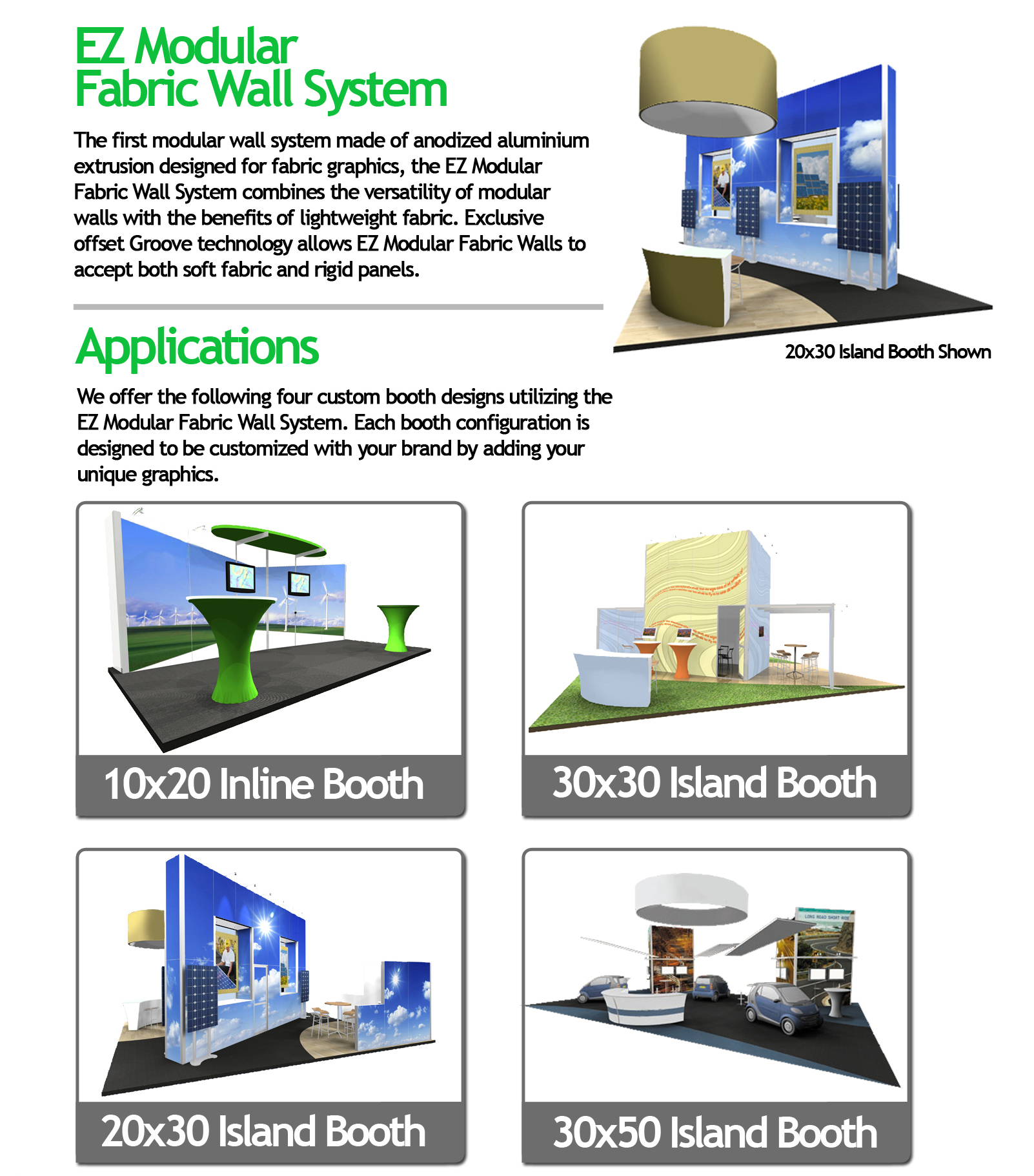 EZ Modular Wall Systems | Trade Show Displays in Los Angeles com
